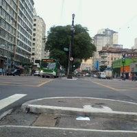 Photo taken at Avenida Rio Branco by Fernando P. on 1/21/2012