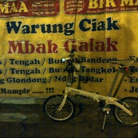 Photo taken at Warung Ciak Pak galak by Samy U. on 3/5/2012