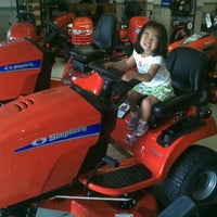 Photo taken at Egelhoff Lawn Mower Service by Fred C. on 6/16/2012