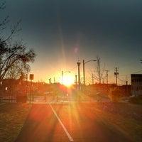 Photo taken at Bethlehem Greenway by Derek S. on 4/5/2012