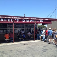 Photo taken at Falafel's Drive-In by Saam T. on 5/19/2012