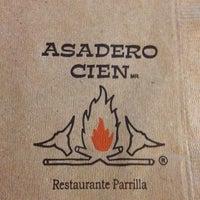 Photo taken at Asadero Cien by Roberto L. on 2/24/2012