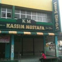 Photo taken at Restoran Kassim Mustafa by @daaditsu on 1/6/2011