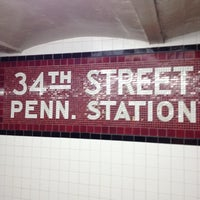 Photo taken at New York Penn Station (NYP) by John F. on 6/8/2012