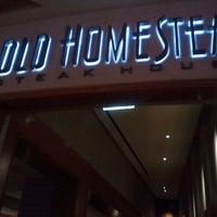 Photo taken at Old Homestead Steakhouse by Lazy J. on 1/22/2012