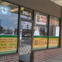 Photo taken at Solana Pizza & Sub by Genabee M. on 8/24/2011