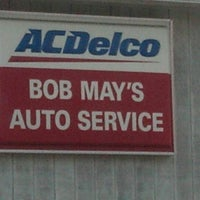 Photo taken at Bob May's Auto Servicecenter, Inc. by Angela H. on 8/23/2012