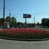 Снимок сделан в Площадь Мужества пользователем Nastusha🍒 5/23/2012