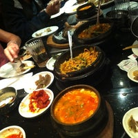 Photo taken at Shilla Korean Barbecue by Lijay S. on 7/20/2012