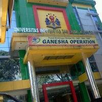 Photo taken at Ganesha Operation by Adinda S. on 5/23/2012