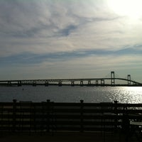 Photo taken at Officer's Club at Newport Naval Station by Luke R. on 5/18/2012