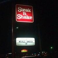 Photo taken at Steak 'n Shake by Snook S. on 1/1/2012