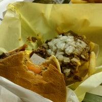 Photo taken at Original Tommy's Hamburgers by Aussie K. on 12/18/2011