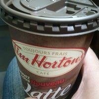 Photo taken at Tim Hortons by Dayes W. on 11/26/2011