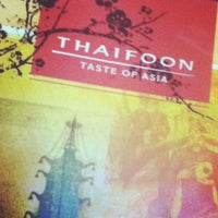 Photo taken at Thaifoon Taste of Asia by Shawn H. on 9/10/2012