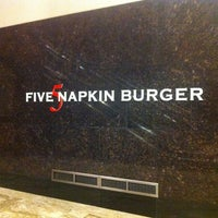Photo taken at 5 Napkin Burger by Paul H. on 2/11/2012