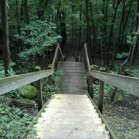 Photo taken at High Cliff State Park by Heather J. on 9/6/2011