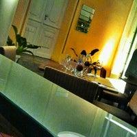 Photo taken at Espaço Garni Bar Restaurante by Kelzinha on 7/26/2012