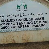 Photo taken at Masjid Al-Hikmah Tanjung Lumpur by NLZR R. on 3/23/2012