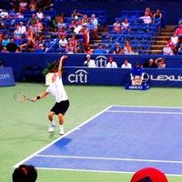 Photo taken at Rock Creek Tennis Center by Chris  F. on 8/4/2012