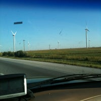 Photo taken at Windmill farm by Crystal N. on 11/29/2011