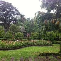 Photo taken at Perdana Botanical Garden by Ngu S. on 8/19/2012