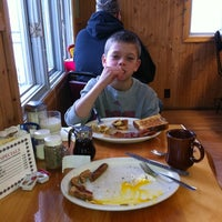 Photo taken at Log Cabin Cafe by Gary M. on 3/3/2012