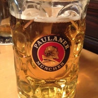 Photo taken at Paulaner Bräuhaus by Irma E. on 6/1/2012