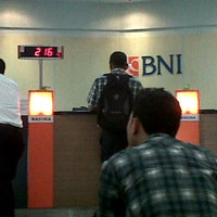 Photo taken at Bank BNI by Fuadi V. on 4/2/2012