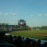Photo taken at Werner Park by Christina A. on 7/14/2012