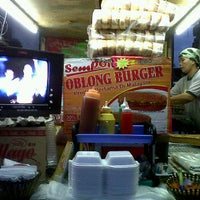 Photo taken at Abang Lan Burger by ALF V. on 1/31/2012
