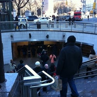Photo taken at MTA Subway - 59th St/Columbus Circle (A/B/C/D/1) by EA G. on 3/29/2011