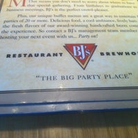 Photo taken at BJ's Restaurant and Brewhouse by Jennifer H. on 10/20/2011