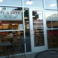 Photo taken at Five Guys by Tk H. on 9/10/2011