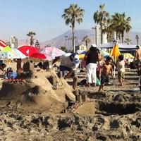 Photo taken at Playa Cavancha by cristian u. on 2/26/2012