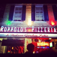 Photo taken at Roppolo's Pizzeria by winger on 3/16/2012