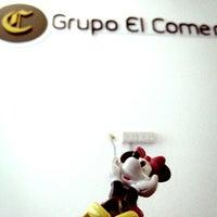 Photo taken at Grupo El Comercio - Plataforma Digital by 👑 Adriana M. on 7/25/2012