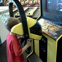 Photo taken at Chuck E. Cheese's by Mya M. on 9/4/2011