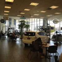 Photo taken at Frontier Toyota by James M. on 2/4/2012