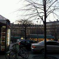 Photo taken at Place des Ternes by Joselino S. on 3/13/2012