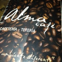 Photo taken at Alma Café by Jesús M. on 3/10/2012