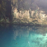 Photo taken at Los Tres Cenotes Cuzamá by Miguel O. on 6/17/2012