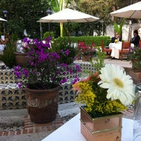 Photo taken at San Angel Inn by Alonso R. on 5/21/2012