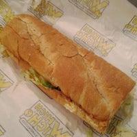 Photo taken at Which Wich? Superior Sandwiches by Adam T. on 1/17/2012