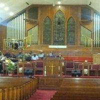 Photo taken at Mt Carmel Baptist Church by Charlotte C. on 10/15/2011