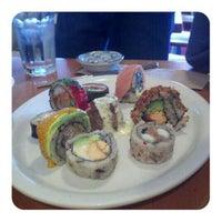 Photo taken at Miya's Sushi by Cristine K. on 1/7/2012