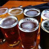 Photo taken at Rock Bottom Restaurant & Brewery by Conrad & Jenn R. on 9/6/2012
