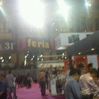 Photo taken at Feria del Libro by Dream W. on 11/13/2011