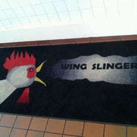 Photo taken at Wing Slingers by Holly w. on 5/27/2012