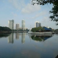 Photo taken at Beira Lake by Waruna T. on 10/2/2011